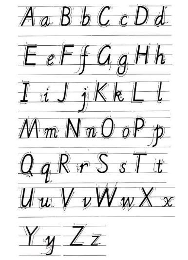 利用字母d画可爱的小恐龙