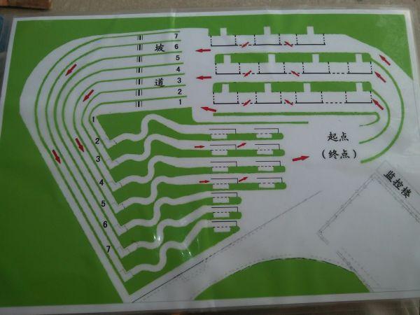 广安车管所科目二_济宁驾校考试科目二小项考试路线图_百度知道