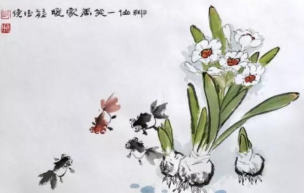 题水仙花诗词 有关水仙花的诗句 诗词歌曲 第5张