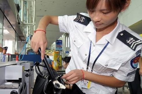 机场安检工资_谁知道机场安检人员属什么编制。_百度知道