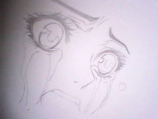 好看的简单画的动漫人物图片,最好市场铅笔画的图片