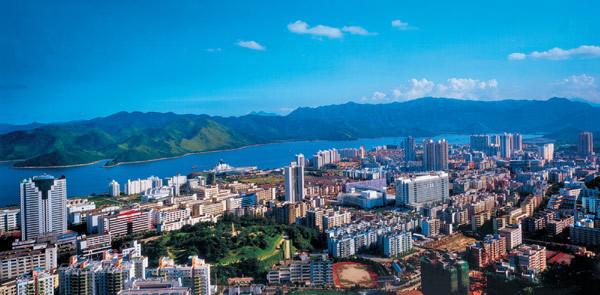 深圳石岩湖_深圳分几个区,哪里是市中心,哪里比较繁华_百度知道
