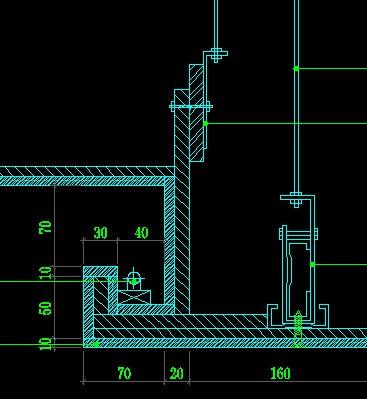 天花吊顶剖面_CAD的吊顶剖面图怎么画啊,麻烦大神指导。最好有平面与剖面的 ...