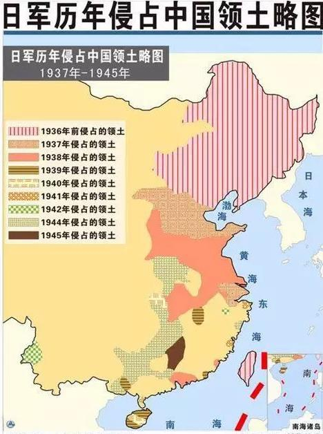 日本占领的国土_二战时期,日本占领中国多少土地(最好有地图。)_百度知道