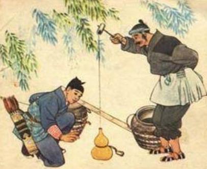 卖油翁陈尧咨_《卖油翁》中说明了陈尧咨善射的情形是那两个句子?_百度知道