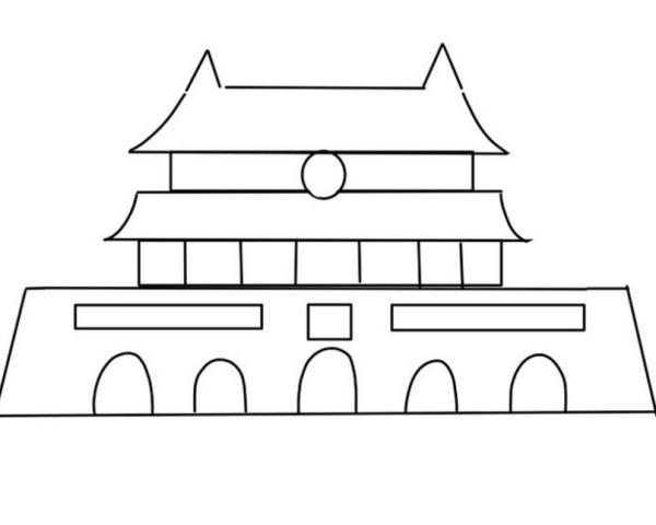 画最简单的画_鸽子卡通简笔画最简单画法图解