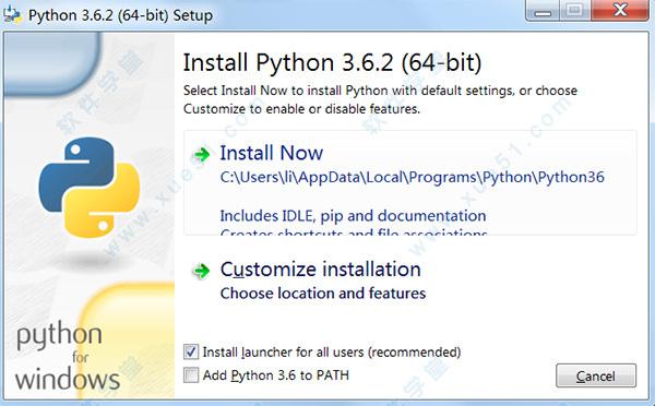 求 python 64位安装包下载