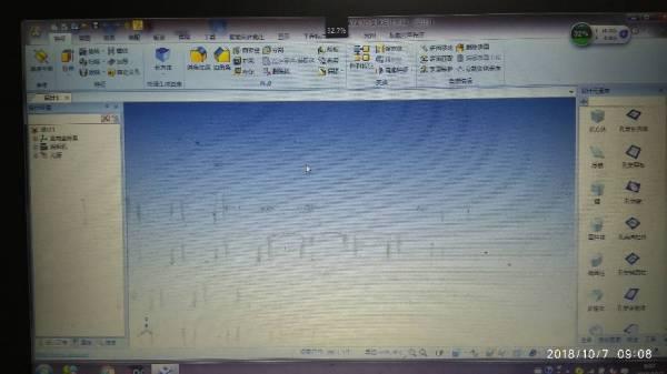 打开caxa3D画面有固定的图标,怎么回复