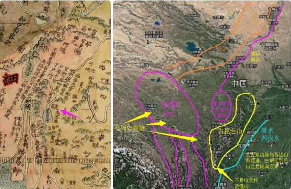 中国地图上黄河的位置_历史上真的有黄帝这个人吗?_百度知道
