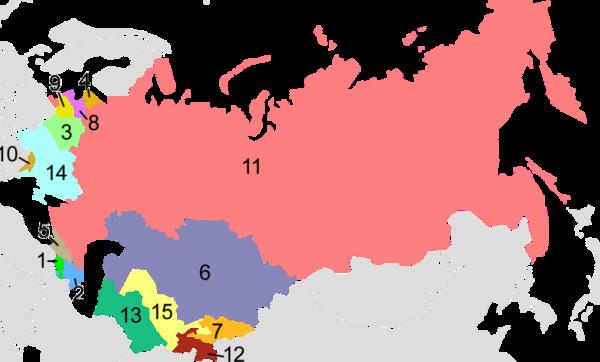 苏联是现在的哪个国家?