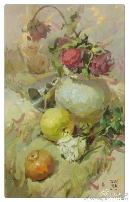 广东高考美术色彩高分卷有哪些图片