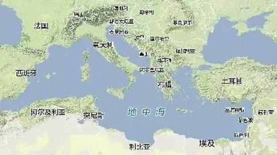 海峡运河_地中海附近的国家有哪些?_百度知道