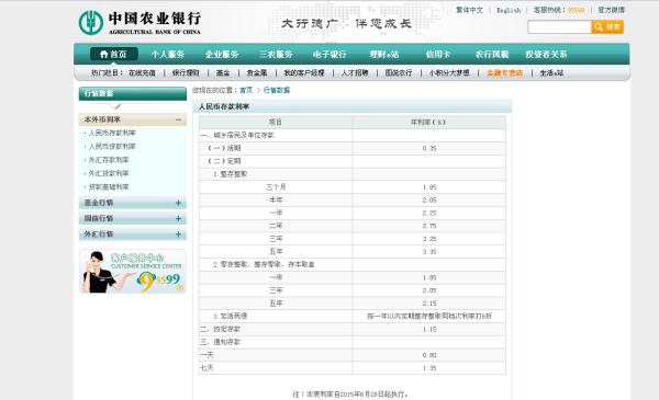 五年定期存款利率_2o15年银行定期存款利率表_百度知道
