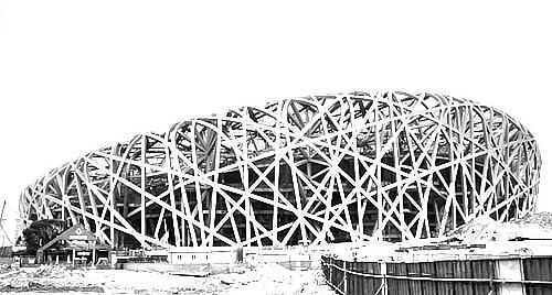 怎样求中位数_求一张奥运鸟巢的外景素描_百度知道