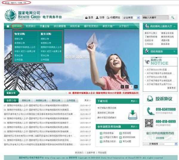 国家电网商务平台_国家电网中标公告发布在什么网站?_百度知道