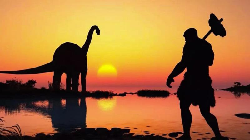 如果75亿现代人穿越到白垩纪,人类能否再次主宰地球?的头图