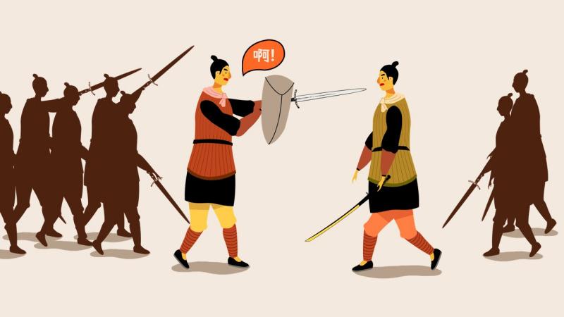 古代打仗真的像武侠小说里一样,流行武将一对一单挑吗?