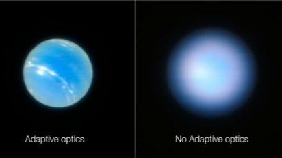 消除大气层干扰!望远镜升级创造了非常清晰的空间视图