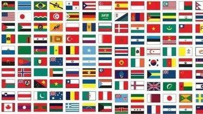 为什么世界各国的国旗,几乎从来都不用紫色?