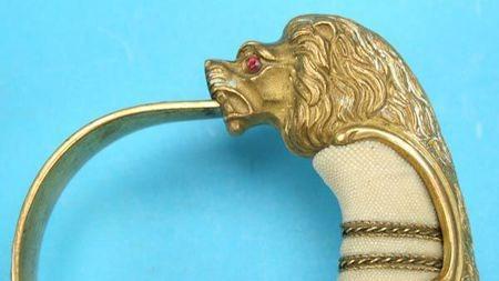 难得一见的精美玻利维亚狮头剑:拉丁美洲近现代刀剑鉴赏