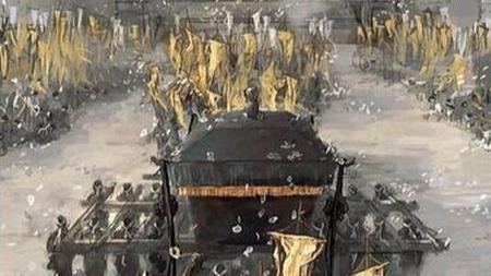 朱元璋的下葬过程,让人不寒而栗!