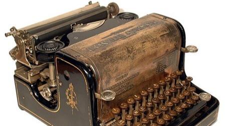 震惊!打字机竟然是爱情的产物