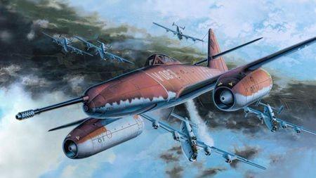 二战第一款量产喷气战斗机的最大敌人竟是自己?还坑死了战友?的头图