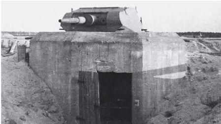 一个地堡打掉11辆坦克?谈二战德军坦克炮塔地堡