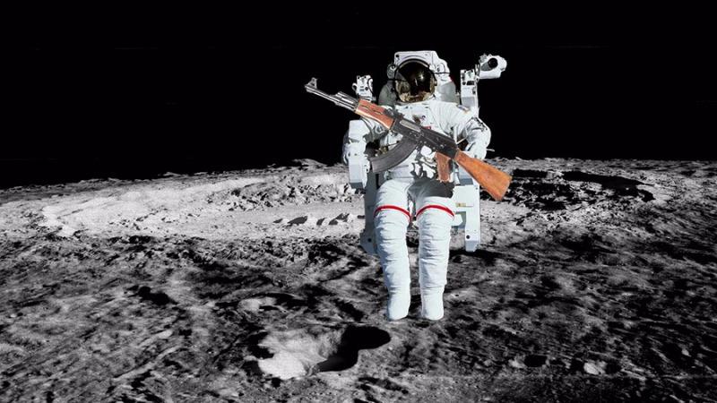如果在月球上打出一颗子弹会怎样?