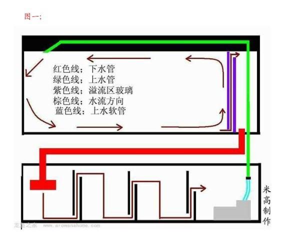 鱼缸背滤的工作原理_鱼缸背滤设计图及原理