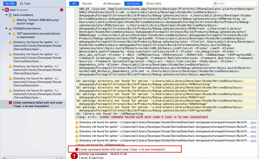 ios 这个编译错误怎么解决_百度知道