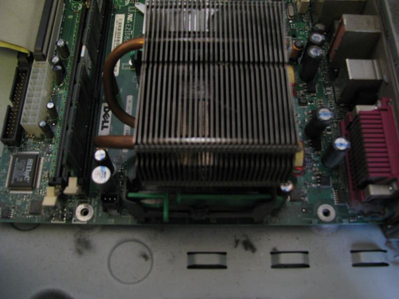 戴尔电脑主机怎么拆_戴尔电脑的CPU怎么拆_百度知道