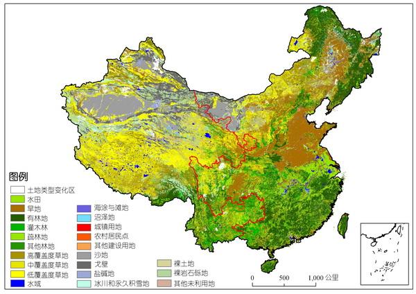 如何看懂中国地图