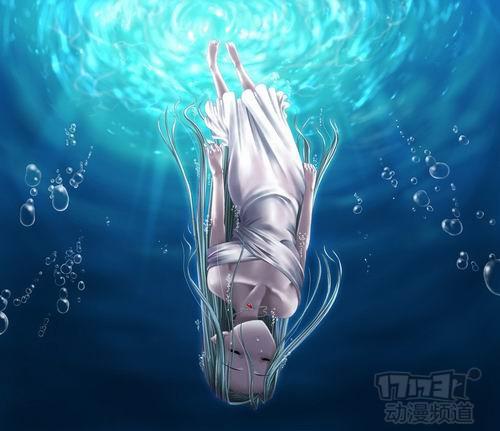 泡在水里的人的图片_求图片人在水里很安详的死去往下沉的图片(动漫真人都可以 ...