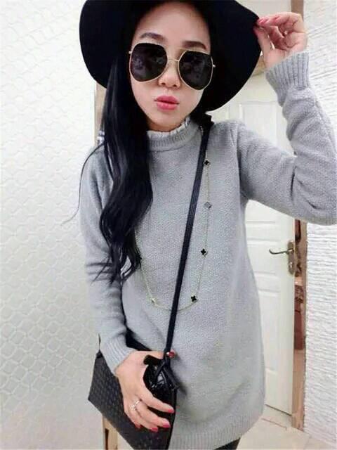 韩版绿色格子茧形大衣应该怎么搭配?如果搭配长款 ...