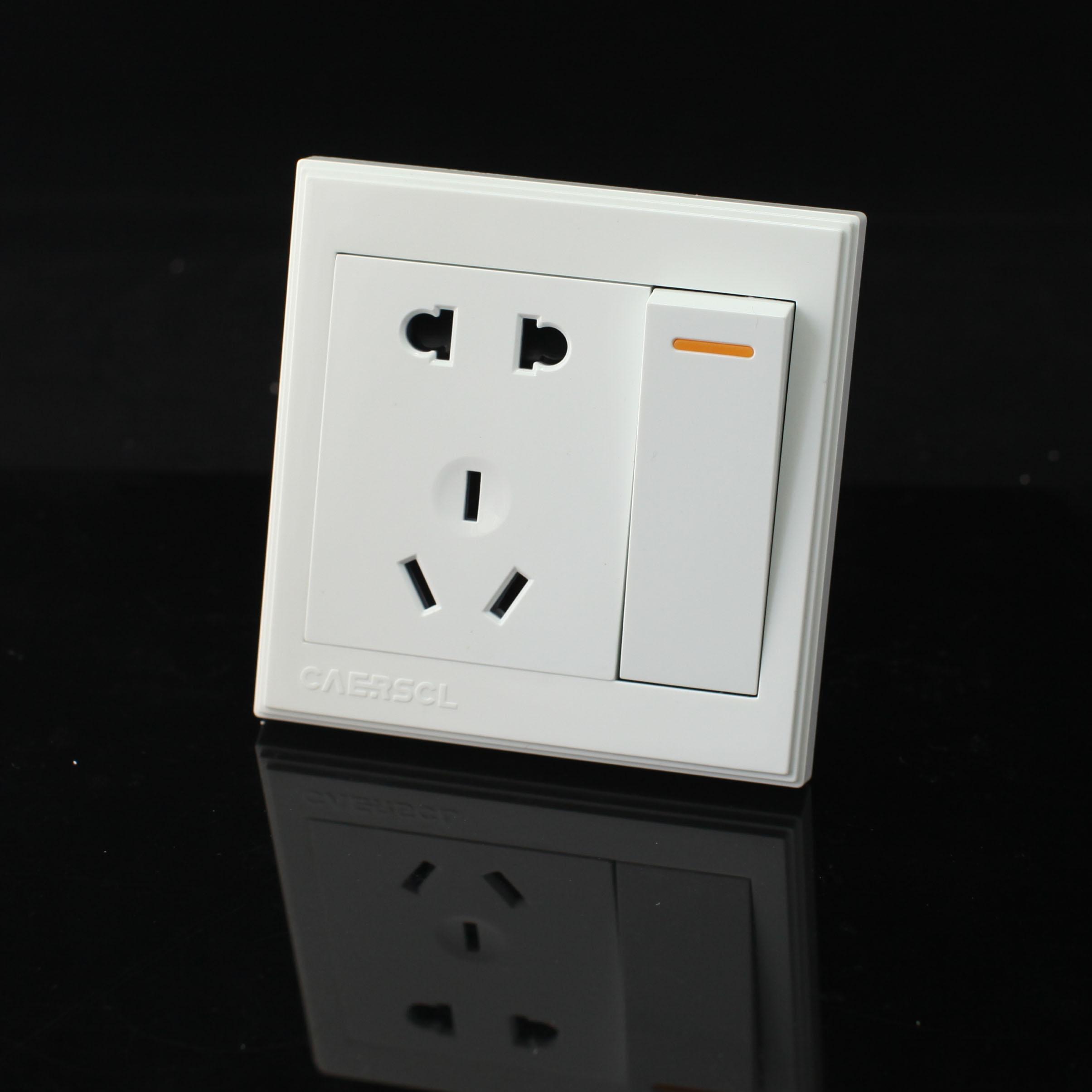 公牛插座如何_带开关五孔插座接线图_百度知道