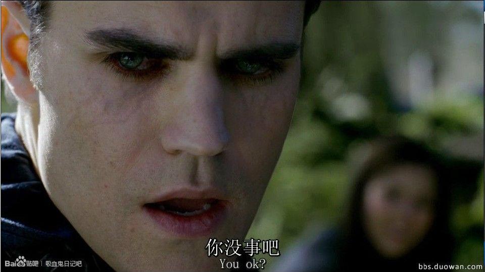 吸血鬼日记第四季07_求美剧吸血鬼日记中吸血鬼要吸血或发怒的时候眼睛发生变化的 ...