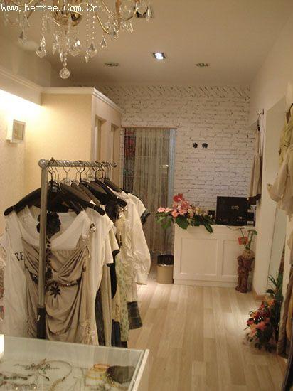 田园风服装店装修图片 小店20多平方米,想装田园风格的,大家有什么