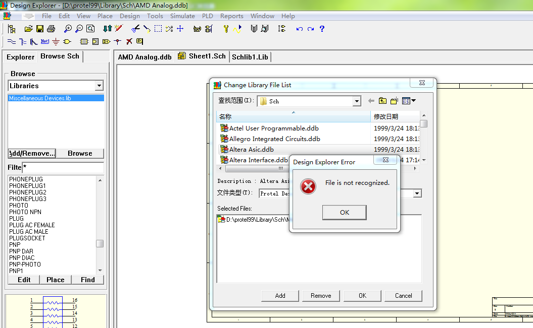 protel99 win7加库_win7下protel99se如何添加元件库_百度知道