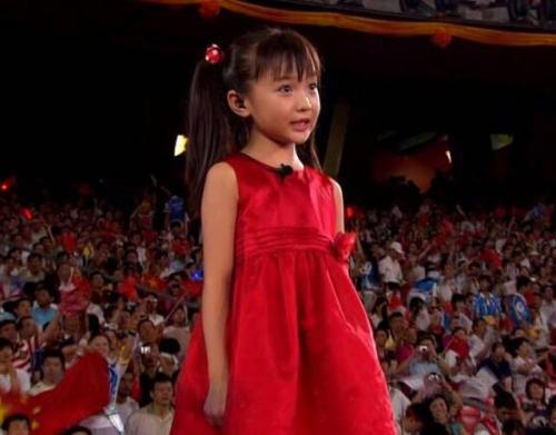 2008北京奥运会上林妙可唱的是什么歌