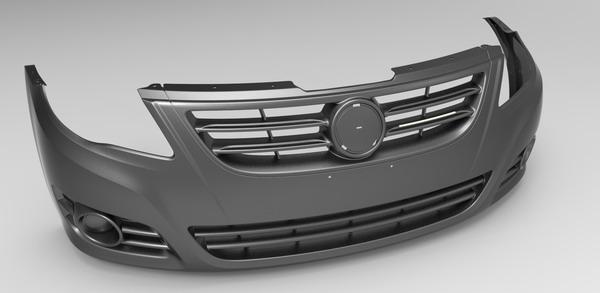 汽车保险杠什么塑料_汽车保险杠主要是什么塑料做成的?_百度知道