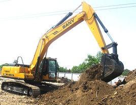 液压挖掘机主要工作方式
