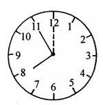 钟表的度数问题