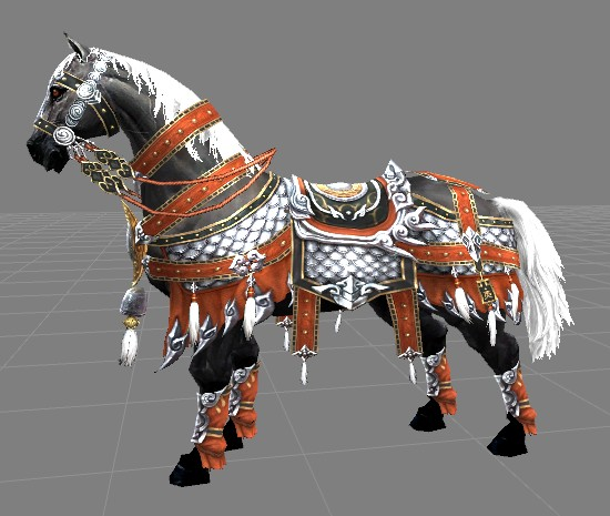 剑网三 求一张奔雷马具配龙子的图_百度知道