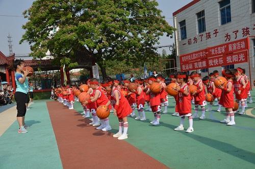 幼儿园舞蹈篮球操串词大全