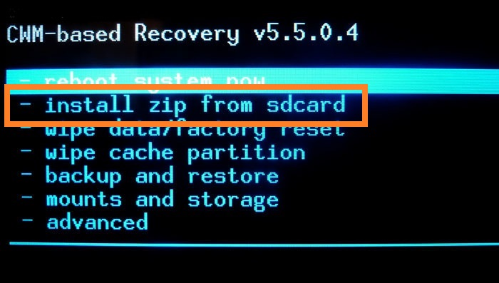 Android System Recovery 怎么刷机啊? 百度知道