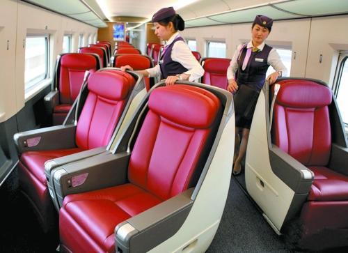 高铁一等软座_高铁的一等座和商务座有什么区别?_百度知道
