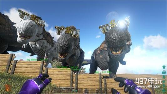 我的世界盾甲龙怎么进化_方舟生存进化精英迅猛龙怎么驯服_百度知道