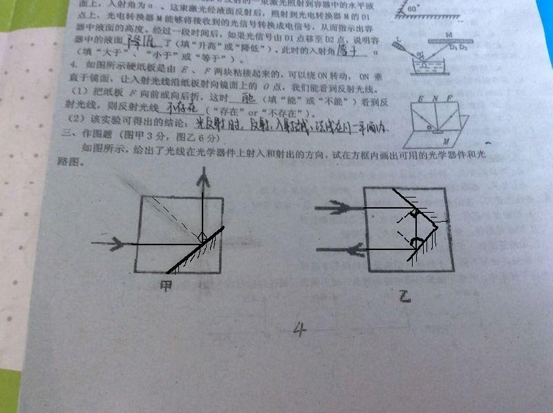 八上物理做图全部