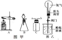 实验室制取氨气的原理_实验室制取氨气装置图